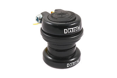 """DIATECH 30mm HEADSET 25.4mm 1""""AHEAD WITH LOCKING ADJUSTER CLAMP 26.4 CROWN RACE"""