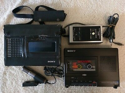 Sony TC-D5M + Case, Adapter and Microphone, Perfect Working True Mint Condition!