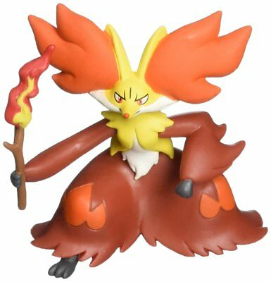"Official Takara Tomy Pokemon X And Y Sp-08 2.5"" Delphox Action Figure"