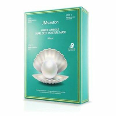 JM Solution Marine Luminous Pearl Deep Moisture Moisturizing Faical Sheet Mask