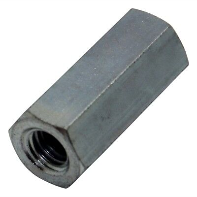 10x TFF-M6X35/DR129 Screwed spacer sleeve Int.thread M6 35mm hexagonal 129X35
