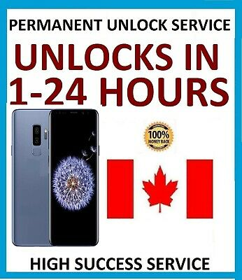Unlock Code For Samsung GALAXY S7 Active S7 S6 Rogers Fido