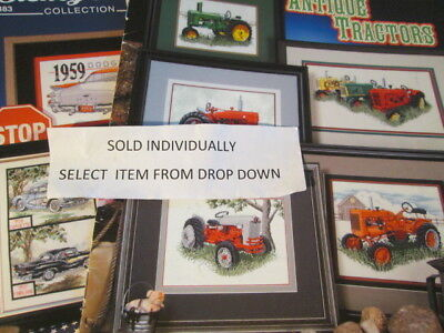 Transportation Cross Stitch Booklet/Chart-Your Choice-Airplanes/Trucks/Tractors/
