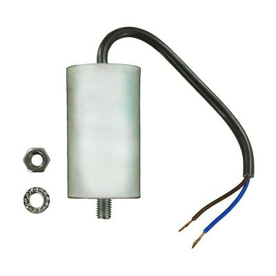 Universal Capacitor with 18 cm Cable Connectors, 16 uF, 16 MFD, 450 V A