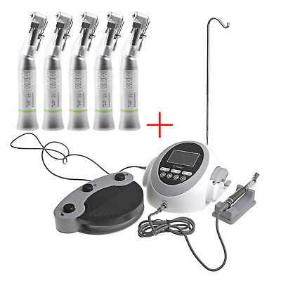 Dental Implant Brushless Drill Motor + 5pcs 20:1 Reduction Handpiece S1