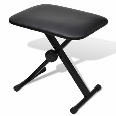 New Adjustable Keyboard Piano Stool Seat Folding Bench 3 Way Chair Poratble Seat