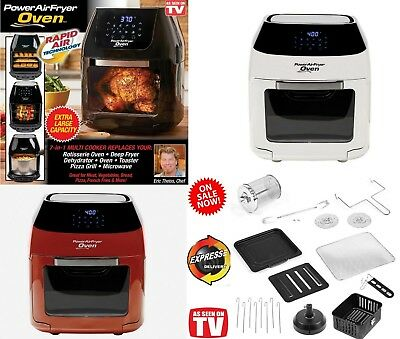 Power Air Fryer Oven Plus 8qt Xxl Family Sized 7 In 1 Professional