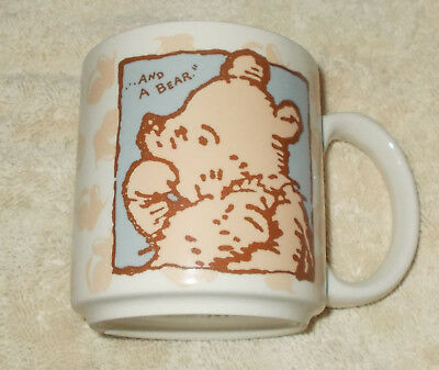 "Disney Winnie the Poop and Christopher Robin Mug. ""A little boy and his Bear"""