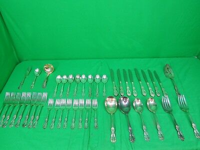 Wm Rodgers Mfg Co Extra Plate Southern Manor Pattern Lot of 42pc  Service for 8