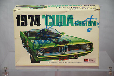 Winneco 1974 CUDA Custom - Opened - Rough Box - Sold AS IS for Parts.