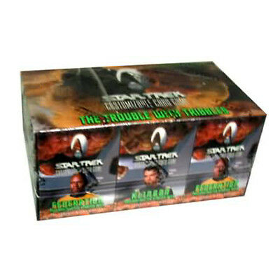 STAR TREK CCG - The Trouble With Tribbles Cards Starter Deck Display (12) #NEW