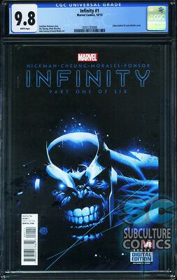 Infinity #1 - First Print - Marvel Comics - Cgc 9.8 - Sold Out - Avengers Thanos