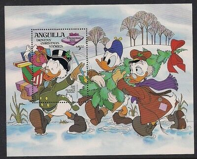 Anguilla Stamp - 83 Christmas-Dickens stories Stamp - NH