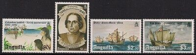 Anguilla Stamp - Discovery of America Stamp - NH