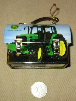 John Deere Tin Mini Carry All Lunch Box Tin Box Collection