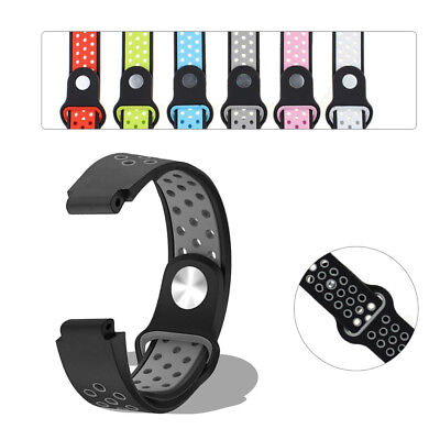 Silicone Strap Watch Band Loop  For Garmin Forerunner 235/220/230/620/630/735XT