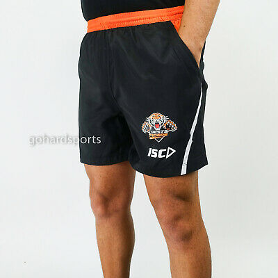 Wests Tigers 2018 NRL ISC Training Shorts (ADULTS + KIDS SIZES)