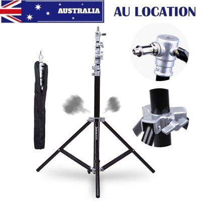 "AU 2PCS 280cm 110"" 9.2ft  Selens Air Cushion Light Duty Light Stand Kit with Bag"