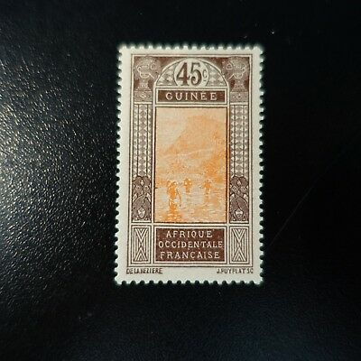 France Colony Guinea French N°74 Neuf Luxe Mnh