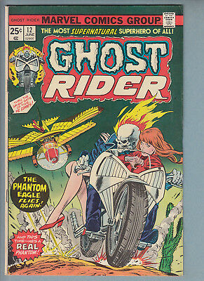 Ghost Rider 12 (June 1974) Marvel Comic VG 50% off guide