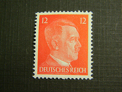 Rare Old Antique Authentic German WWII  Unused Stamp -12pf