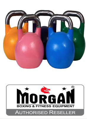 MORGAN COMPETITION KETTLEBELLS CROSSFIT 8kg 10kg 12kg 16 20 24 28 32 kettle bell