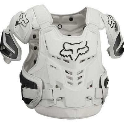 Fox Raptor Vest Motocross Chest Armour 2018 - Light Grey Enduro