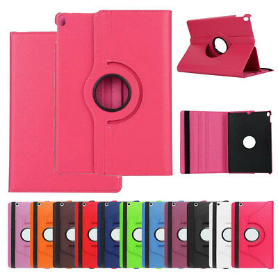 """Smart 360 Rotating Folio Case Stand Slim Cover For Apple iPad 9.7"""" 2018 6th Gen"""