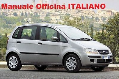 Fiat Idea (2003/ 2012) Manuale Officina ITALIANO SU CD