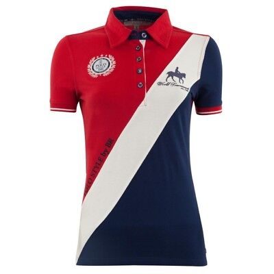 BRPS Polo Shirt Catorce Ladies royal red