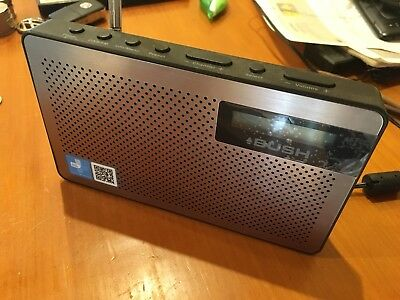 BUSH BR25DAB DESKTOP / PORTABLE DAB/FM RADIO - Good condition