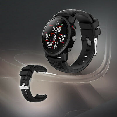 Sports Silicagel Wrist Band Strap Loop  For HUAMI Amazfit Stratos Smart Watch 2