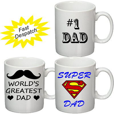 Dad Mug Cup 11Oz Birthday Christmas Father's Day Dad Gift Personalised