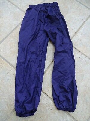PURPLE PLUM RIP STOP GARBAGE PANTS BODY WRAPPERS BALLET DANCE girls child 4-6