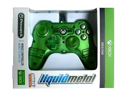XBOX ONE Wired Controller - Officially Licensed by Microsoft - Mini Green - NEW