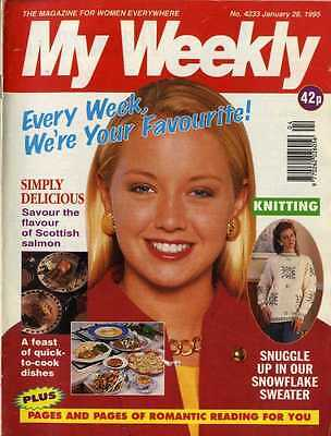 My Weekly Magazine 991995 Knitting Pattern Pram Cover Toy For