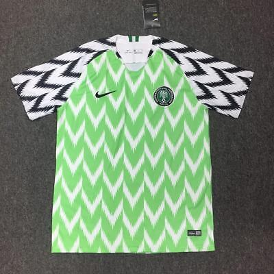 New Nigeria Home Shirt World Cup 2018 - Mikel, Iwobi any name