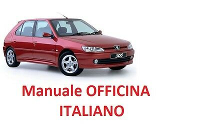 PEUGEOT 306 (1993/2002) Manuale Officina ITALIANO SU CD GTI