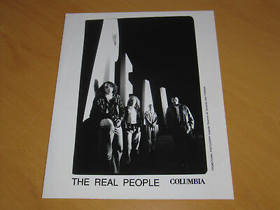 The Real People - Original Uk Promo Press Photo (A)