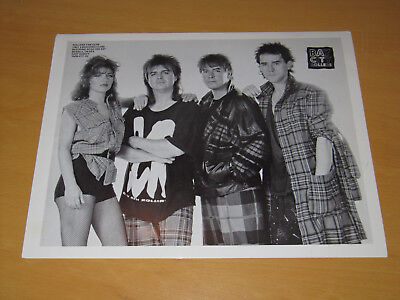 The Bay City Rollers - Original Uk Promo Press Photo (A)