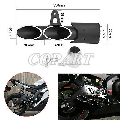 Two outlet Exhaust Tail Pipe Muffler For Honda CBR250RR CBR600RR CBR1000RR CB400