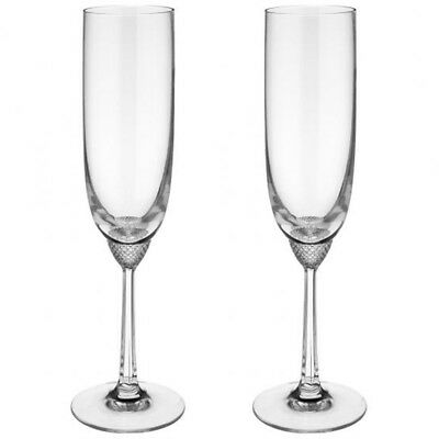 Villeroy & Boch - Crystal Glass Champagne Flute 0.16L - Octavie - Set of 2