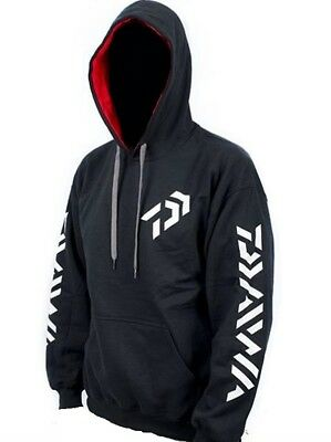 """**Brand New** Daiwa Vector Black Hoodie With Pockets XL + 10% Off Use """"PIZZAZZ"""""""