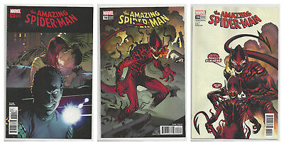 AMAZING SPIDER-MAN #797 798 799 (2nd PRINT) VARIANT RED CARNAGE GOBLIN NM- NM