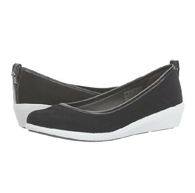 5bacb4a9d NEW IN BOX  Lifestride Women s NYCE Slip On Wedge Flat Shoe Black Size 8M