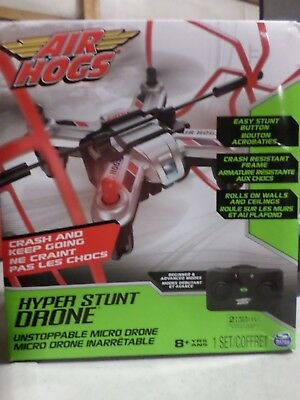 Air Hogs Hyper Stunt Drone Replacement Parts Red Roller Cage Spin