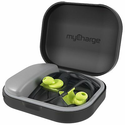myCharge PowerGear Tunes Protective Charging Case for Earbuds Headphones