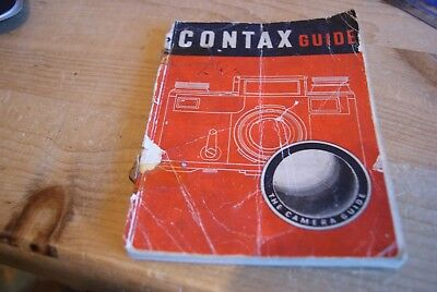 Vintage Contax Guide Early Edition