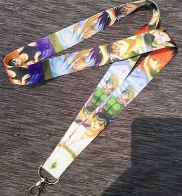 Anime New Yu Yu Hakusho & Characters Multi Mix Color Lanyard Key Chain