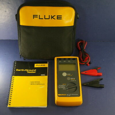Fluke 1621 Earth/Ground Tester, Very Good Condition, Soft Case